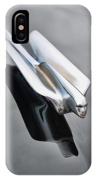 1948 Cadillac Hood Ornament IPhone Case