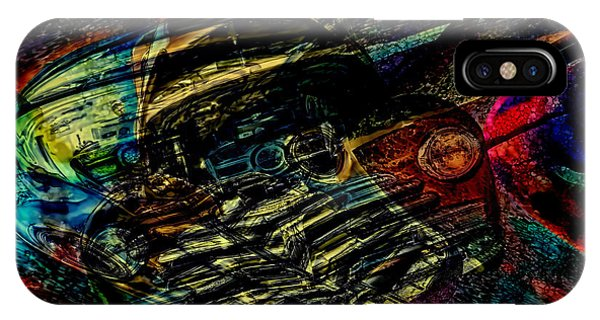1948 Chevy Abstract Art IPhone Case