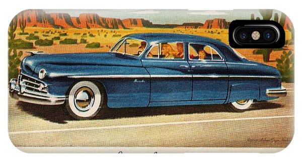 1949 Lincoln Sport Sedan IPhone Case
