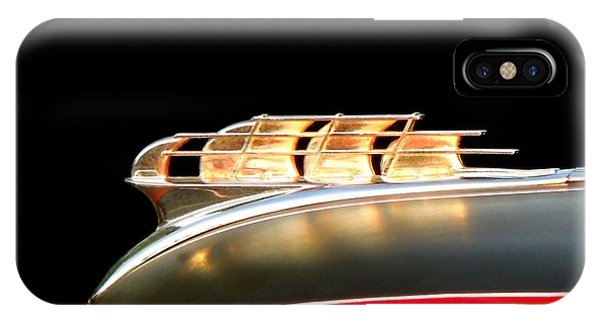 1949 Plymouth Schooner Hood Ornament IPhone Case