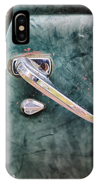 1950 Classic Chevy Pickup Door Handle IPhone Case