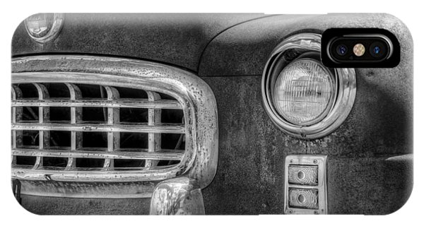 Chrome iPhone Case - 1950 Nash Statesman by Scott Norris