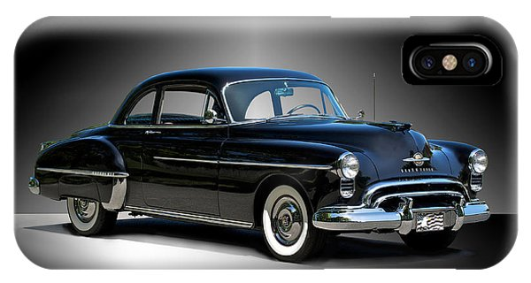 1950 Oldsmobile 88 Deluxe Club Coupe I Phone Case by Dave Koontz
