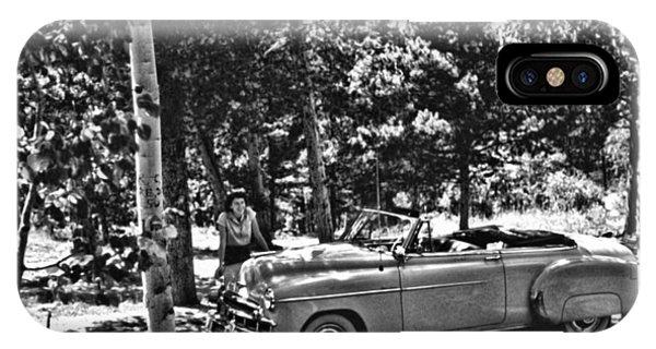 1950's Cadillac IPhone Case