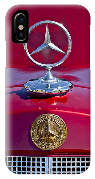 1953 Mercedes Benz Hood Ornament IPhone Case