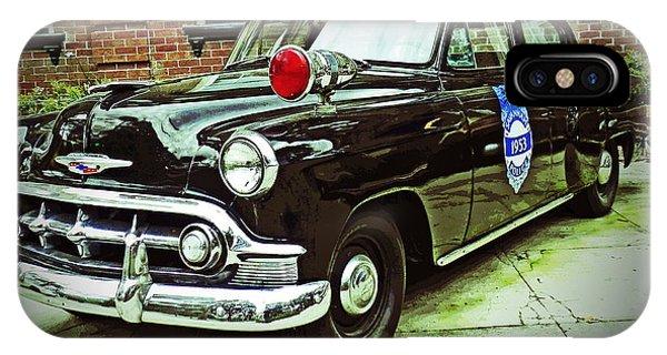 1953 Police Car IPhone Case