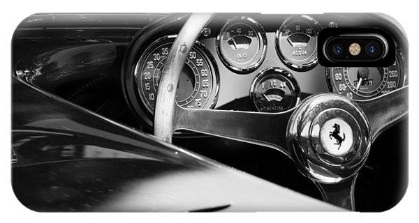 1954 Ferrari 500 Mondial Spyder Steering Wheel Emblem IPhone Case