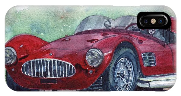 1954 Maserati A6 Gsc Tipo Mm IPhone Case