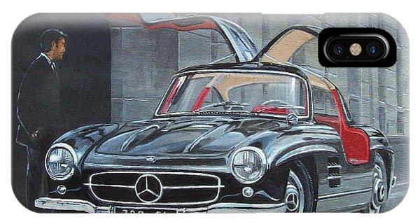 1954 Mercedes Benz 300 Sl Gullwing IPhone Case
