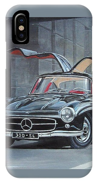 1954 Mercedes Benz 300 Sl Gullwing IPhone Case