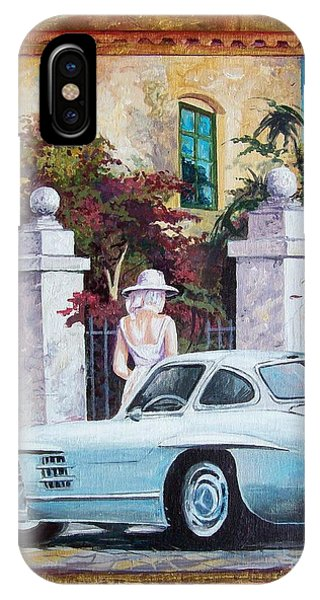 1954 Mercedes Benz Sl 300 Gullwing IPhone Case
