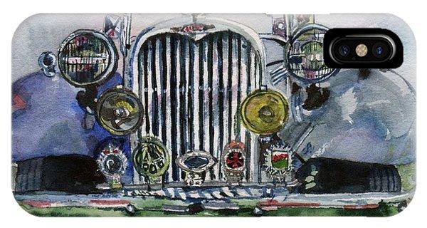 1954 Singer Car 4 Adt Roadster IPhone Case