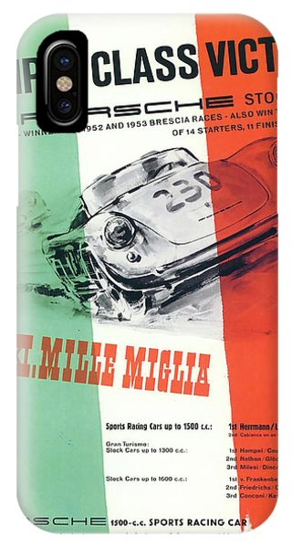 1954 Xxi Mille Miglia IPhone Case