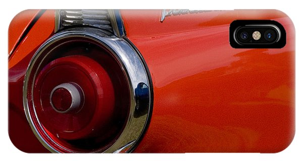 1955 427 Thunderbird Tail Light IPhone Case