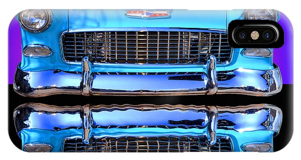 Auto Show iPhone Case - 1955 Chevy Bel Air by Jim Carrell