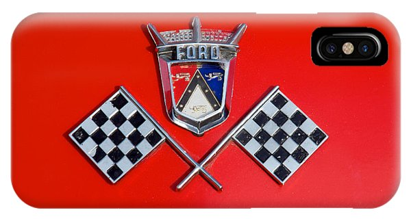 1955 Ford T-bird Logo IPhone Case