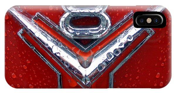 1955 Ford V8 Emblem IPhone Case