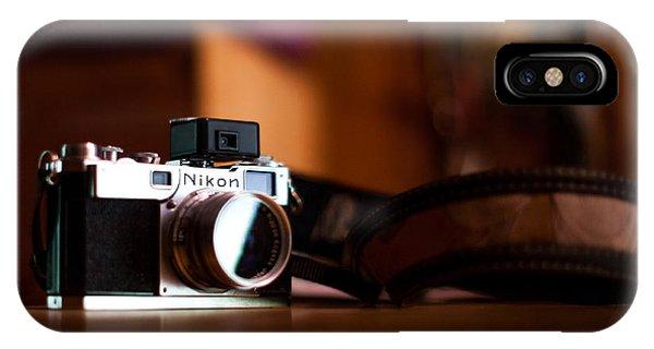 Nikon iPhone Case - 1955 Nikon S2 by Aaron Aldrich