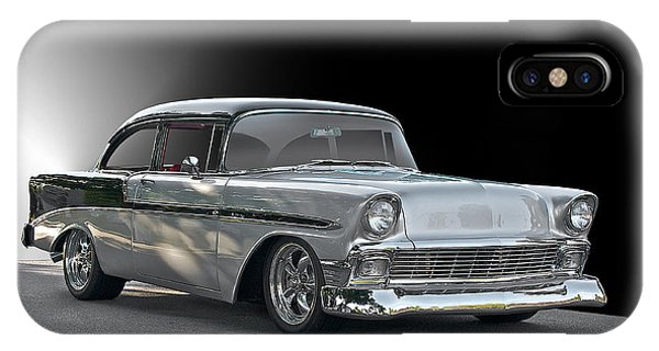 1956 Chevrolet 'post' Coupe Phone Case by Dave Koontz