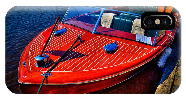 iPhone Case - 1956 Chris-craft Capri Classic Runabout by David Patterson