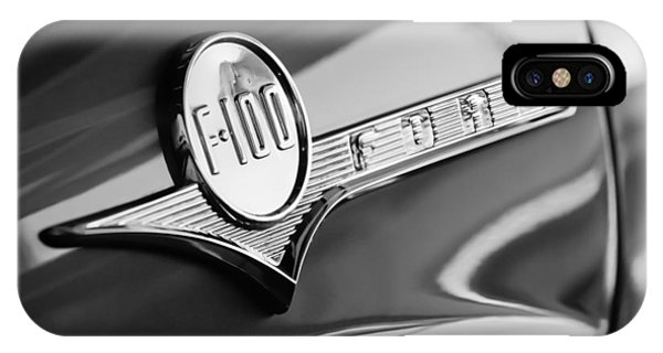 1956 Ford F-100 Pickup Truck Emblem IPhone Case
