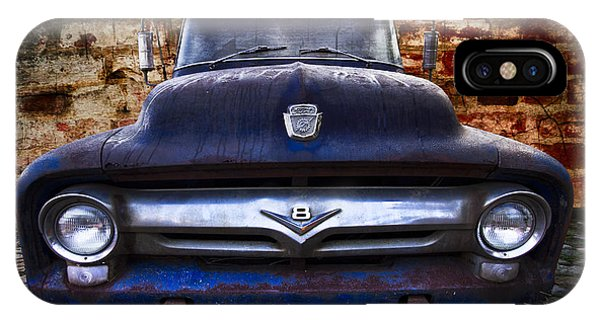 1956 Ford V8 IPhone Case