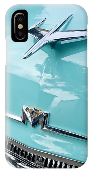 Monterey iPhone Case - 1956 Mercury Monterey Hood Ornament by Jill Reger