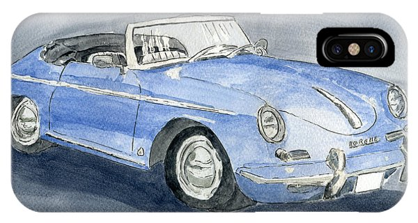 1956 Porche 356b Roadster IPhone Case
