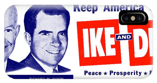 1956 Vote Ike And Dick IPhone Case