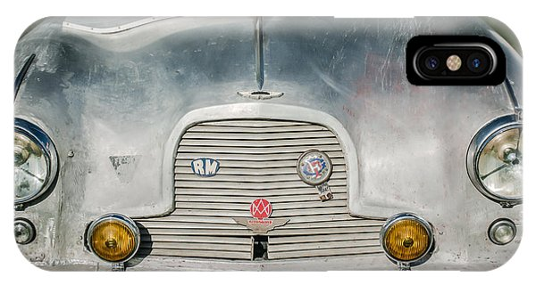 Martin iPhone Case - 1957 Aston Martin Db2-4 Mark IIi -0617c by Jill Reger