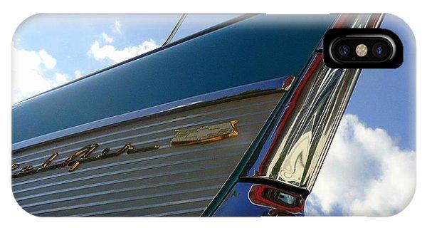 1957 Chevrolet Bel Air Fin IPhone Case