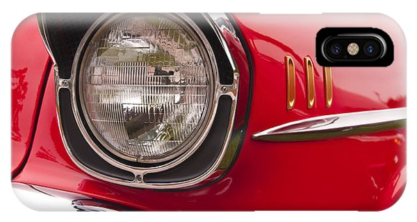 1957 Chevrolet Bel Air Headlight IPhone Case
