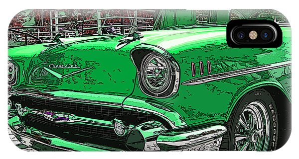 1957 Chevrolet Bel Air IPhone Case
