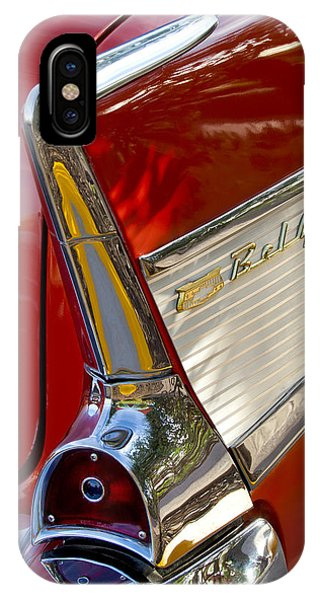 IPhone Case featuring the photograph 1957 Chevrolet Belair Taillight by Jill Reger