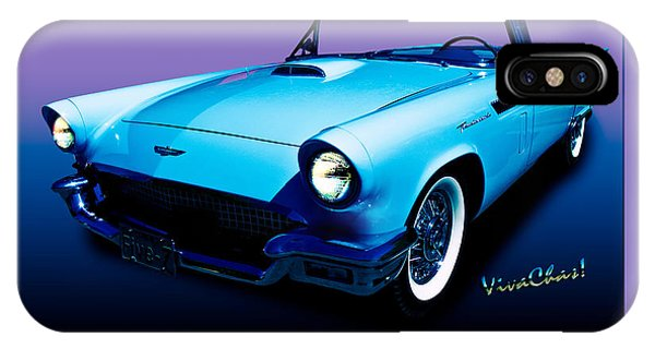 1957 Thunderbird Poster IPhone Case