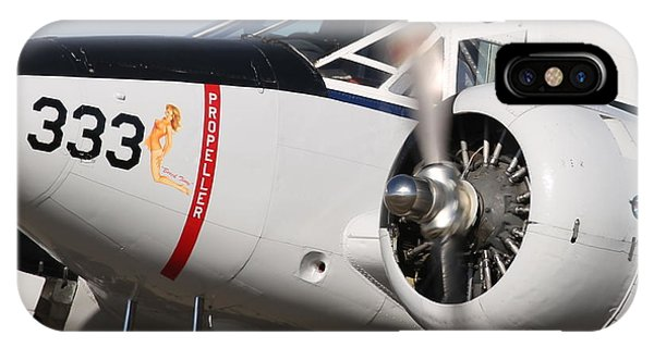 1957 Twin Beech E185 Taxis From The Ramp N5867 Phone Case by John King