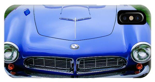 1958 iPhone Case - 1958 Bmw 507 Series II Roadster -1042c by Jill Reger