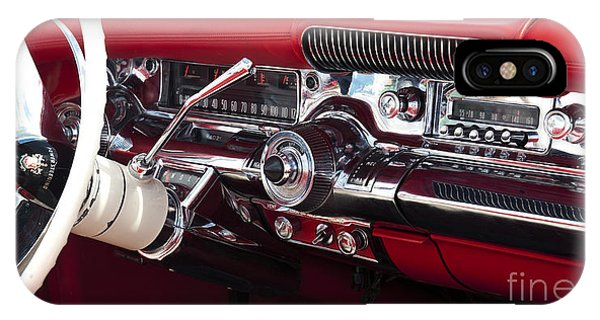 1958 Buick Special Dashboard Phone Case by Tim Gainey