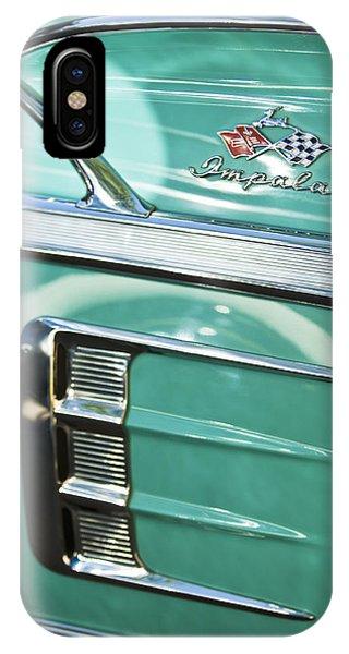 1958 iPhone Case - 1958 Chevrolet Impala Emblem by Jill Reger