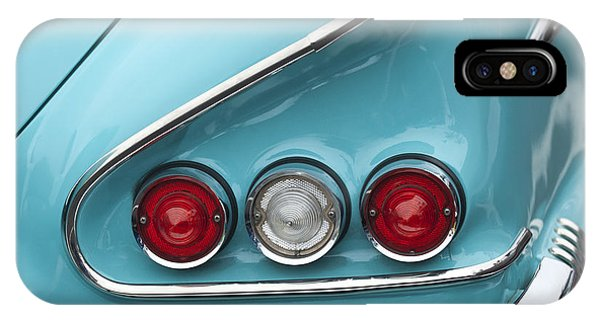 1958 iPhone Case - 1958 Chevrolet Impala Taillights  by Jill Reger