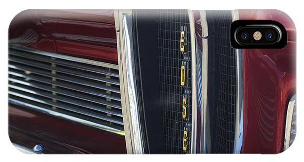 1958 iPhone Case - 1958 Edsel Pacer Grille 2 by Jill Reger