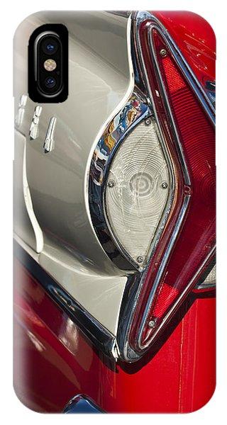 1958 iPhone Case - 1958 Edsel Wagon Tail Light by Jill Reger