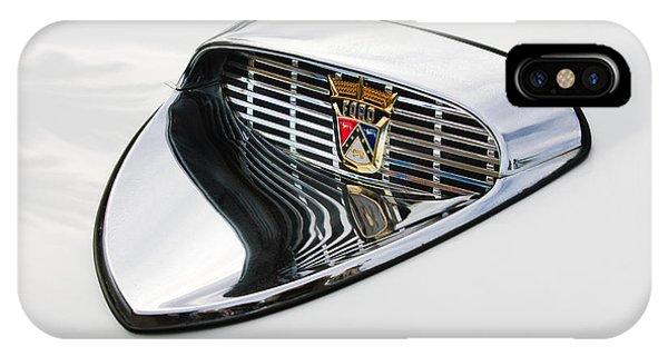1958 iPhone Case - 1958 Ford Hood Emblem by Jill Reger