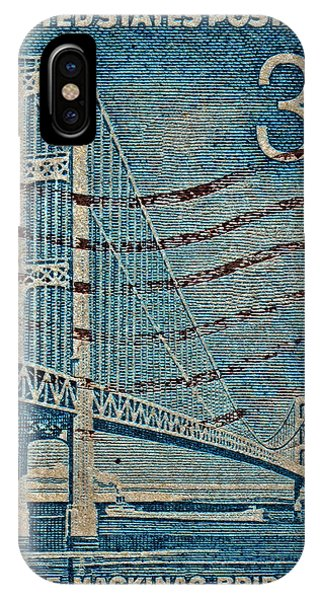 1958 The Mighty Mac Stamp IPhone Case