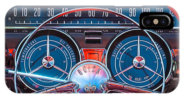1959 Buick Lesabre Steering Wheel IPhone Case