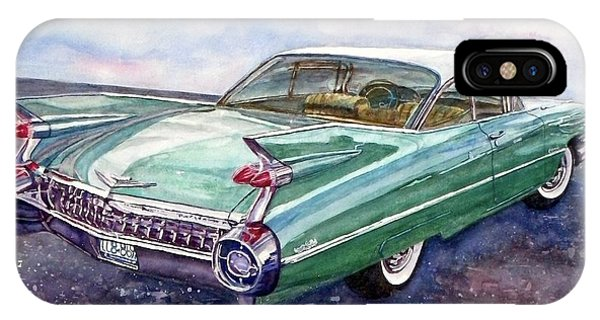 1959 Cadillac Cruising IPhone Case