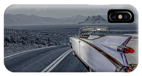 1959 Cadillac Eldorado Cool Night IPhone Case