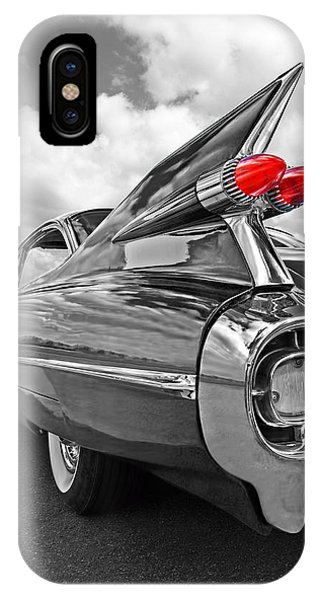 Fins iPhone Case - 1959 Cadillac Tail Fins by Gill Billington
