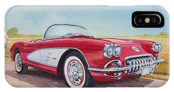 1959 Chevrolet Corvette Cabriolet IPhone Case
