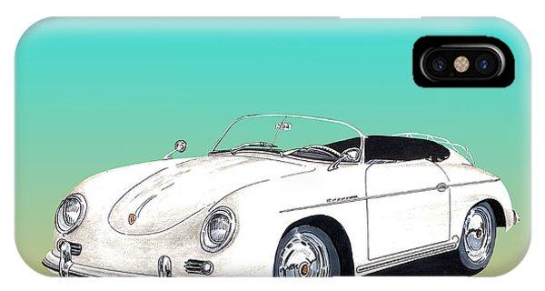 1959 Porsche Speedster IPhone Case